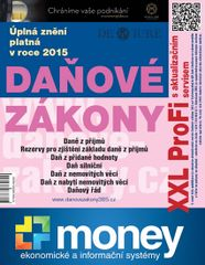 Daňové zákony 2015 XXL ProFi - Komplet tištěné publikace s úplnými zněními daňových zákonů platnými v roce 2015 s e-bookem a pravidelným aktualizačním