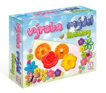 DETIART - Výroba Mydla - Kvety