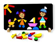 DETOA - Deti Magnetické Puzzle