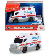 DICKIE - Action Series Mini Ambulancia 15 cm