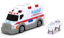 DICKIE TOYS - 3302004 Ambulancia 15 cm so svetlom a zvukom