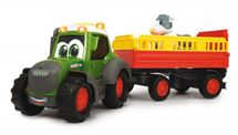 DICKIE TOYS - Dickie Traktor Happy Fendt s prívesom 30 cm 3815004