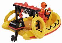 DICKIE TOYS - Požiarnik Sam Záchranný čln Neptún s figúrkou 9251660
