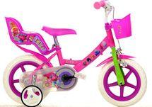 DINO BIKES - Detský bicykel 124RLTRO so sedačkou pre bábiku a košíkom s licenciou Trolls - 12
