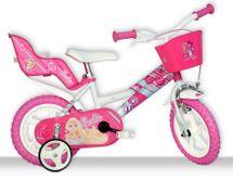 DINO BIKES - Detský bicykel 126RLBAB so sedačkou pre bábiku a košíkom s licenciou Barbie - 12