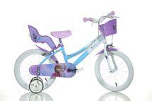 DINO BIKES - Detský bicykel 146RFZ Frozen so sedačkou pre bábiku a košíkom - 14