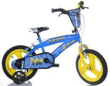"""DINO BIKES - Detský bicykel 14""""Dino 145XCCM Minions New"""