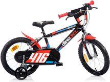 """DINO BIKES - Detský bicykel 16"""" 416US - čierno-červený"""