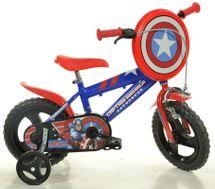 """DINO BIKES - Detský bicykel 412ULCA 12"""" Captain America"""