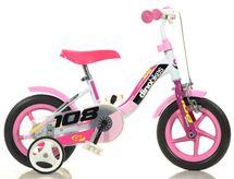 "DINO BIKES - Detský bicykel Dino 108FLG - 10"" Girl s brzdou"