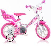 DINO BIKES - Detský bicykel Dino 12 so sedačkou na bábiku