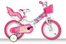 DINO BIKES - Detský bicykel Dino 166RBAB Barbie so sedačkou pre bábiku a košíkom - 16