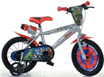 "DINO BIKES - Detský bicykel Dino 414UAV2 - 14"" Avengers 2"