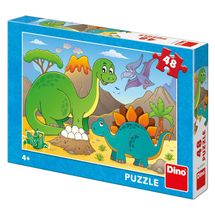 DINO - Dinosaury 48 dielikov