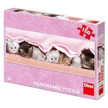 DINO - Mačiatka pod dekou 150 dielikov panoramic