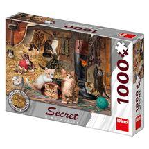 DINO - Mačičky 1000 dielikov secret collection