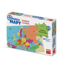 DINO - Mapy Európa 58 dielikov