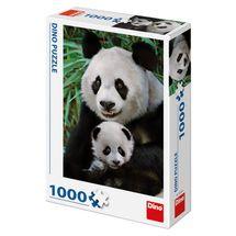 DINO - Pandí rodinka 1000 dielikov