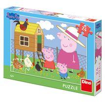 DINO - PePa Pig: Sliepočka 24 dielikov