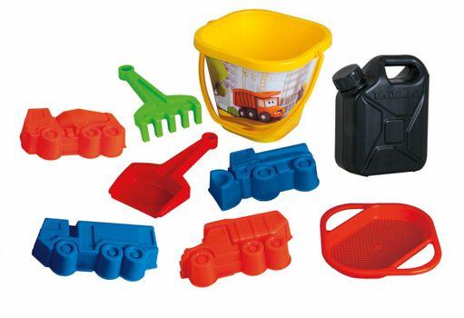 DINO - Transformers pieskový set kanister 9ks