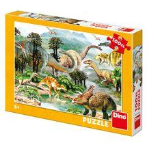DINO - Život dinosaurov 100 dielikov XL