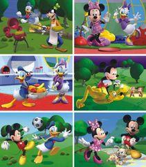 DINOTOYS - Drevené kocky Mickey Mouse