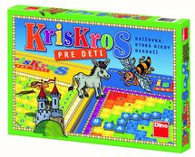 DINOTOYS - Spoločenská hra KrisKros pre deti (slovenská)