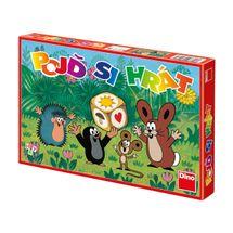 DINOTOYS - Spoločenská hra Krtko poď sa hrať