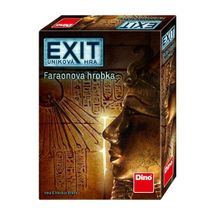 DINOTOYS - Spoločenská úniková hra Exit Faraónova hrobka