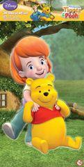 DISNEY - 3D Dekorácia Pooh a Darby XL