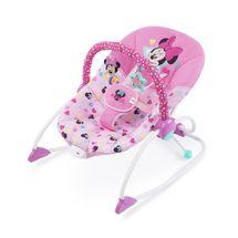 DISNEY BABY - Húpatko vibrujúce Minnie Mouse Stars & Smiles Baby 0m+, do 18kg, 2019