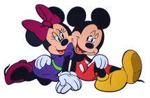 DISNEY - Mickey a Minnie (siting)