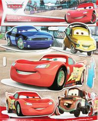 DISNEY - Sada 3D - Cars - Autá (blesk)