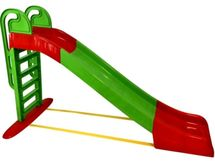 DOLONI - Šmykľavka veľká 243 cm zelenočervená