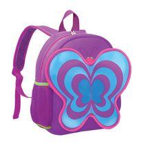 EASY - Batoh neoprénový - detský motýľ fialový