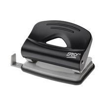EASY - Dierovačka-1250B kovová, na 25 listov, čierna