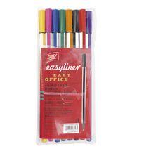 EASY - EASYLINER 8 ks-MIX  - mikrofixek  - mix 8 farieb