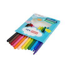 EASY - Fixy 12 farieb, vypratelné
