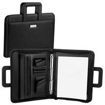 EASY - Portfolio /Guriatti/ SAFE so zipsom  A4-B-06  čierne