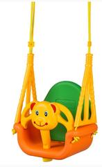 ECO TOYS - Záhradná hojdačka 3v1 - Medvedík