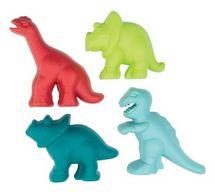 ECOIFFIER - Formičky Dinosaury 4 Ks