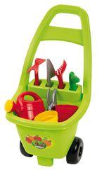 ECOIFFIER - Záhradný vozík s náradím, kvetináčmi a kanvičkou