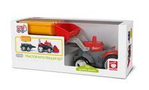 EFKO-KARTON - Igráček Multigo 1+2 traktor s prívesom 27055