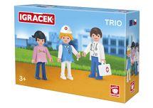 EFKO-KARTON - Igráček trio liečime 26212