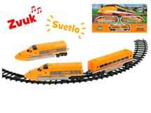 EURO-TRADE - Vlak s vagónmi a dráhou