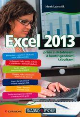 Excel 2013 práce s databázemi a kontingenčními tabulkami - Marek Laurenčík