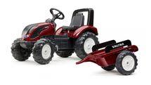 FALK - FALK Šliapací traktor 4000AB VALTRA S4 s vlečkou