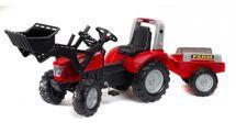 FALK - Šliapací traktor McCormick s nakladačom a vlečkou 3020AM