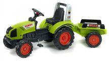 FALK - Šliapací traktor1040AB Claas Arion 430 s vlečkou