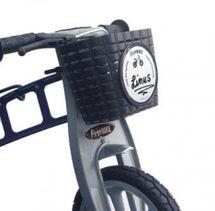 FIRST BIKE - Košík na volant čierny